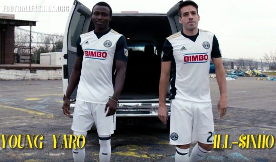Philadelphia Union 2017 adidas Away Soccer Jersey, Shirt, Football Kit, Camiseta de Futbola