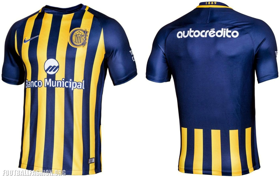 Rosario Central 2017 Nike Home and Away Kits – FOOTBALL FASHION.ORG 8d7668bb4