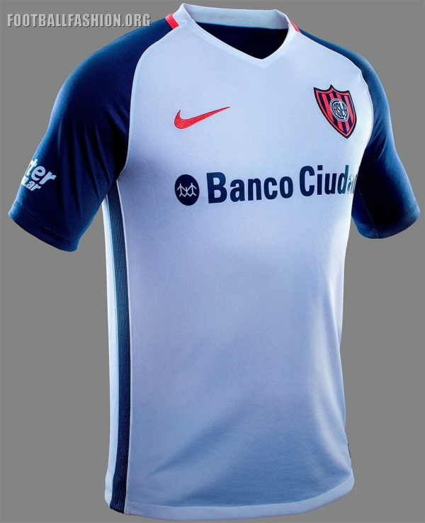 best website 0cc20 30b24 San Lorenzo 2017 Nike Home and Away Kits - FOOTBALL FASHION.ORG