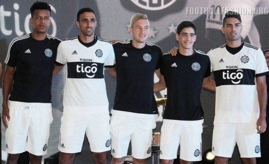 Club Olimpia 2017 adidas Home and Away Football Kit, Soccer Jersey, Shirt, Camiseta de Futbol