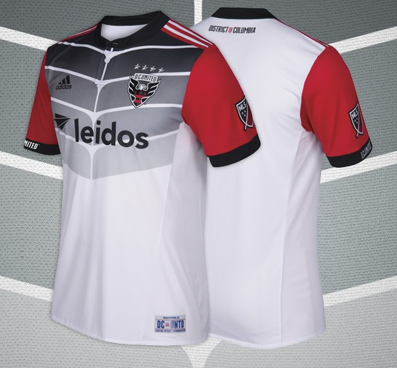 outlet store 246cc 357a4 D.C. United 2017 adidas Away Jersey - FOOTBALL FASHION.ORG