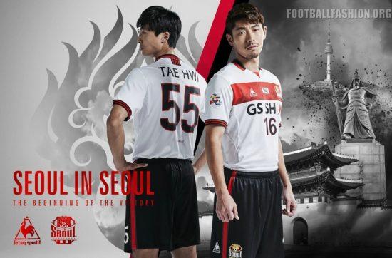 FC Seoul 2017 AFC Champions League Away Kit