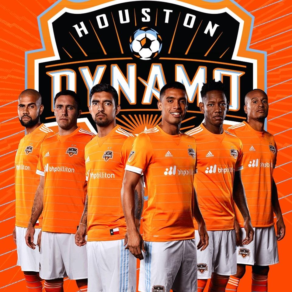 huge selection of 65b0f de272 Houston Dynamo 2017 adidas Home Jersey - FOOTBALL FASHION.ORG