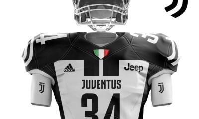 Juventus FC Unveil Super Bowl LI adidas Concept Uniform, Football Kit, Jersey, Shirt, Maglia, Gara
