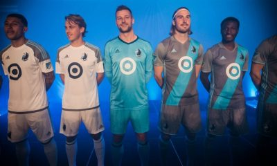 Minnesota United FC 2017 adidas Home and Away Soccer Jersey, Football Kit, Shirt, Camiseta de Futbol