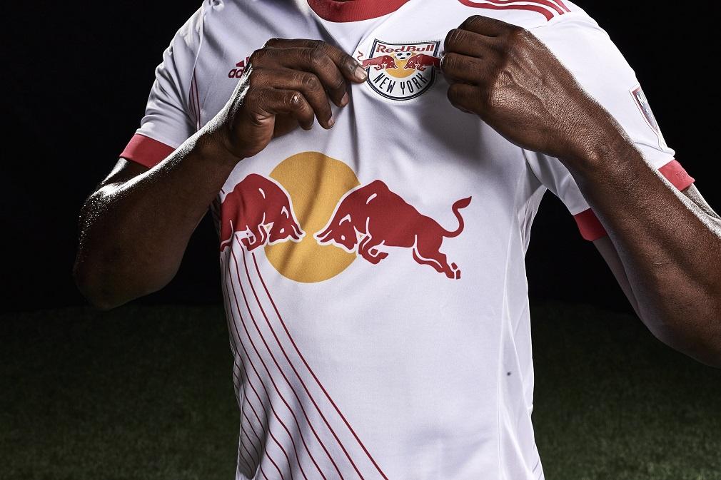d011106bdfa45 New York Red Bulls 2016 adidas Home Soccer Jersey, Football Kit, Shirt,  Camiseta