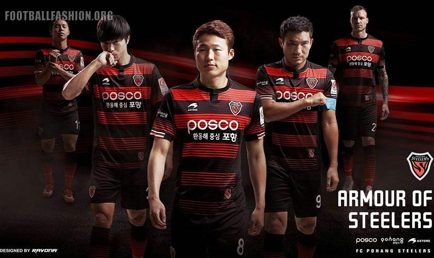 sale retailer da6fe c6821 Pohang Steelers 2017 Astore Home Kit - FOOTBALL FASHION.ORG
