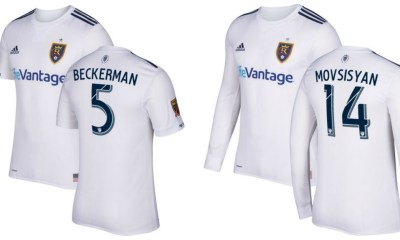 Real Salt Lake 2017 adidas Away Soccer Jersey, Football Shirt, Kit, Camiseta de Futbol, Playera, Equipacion