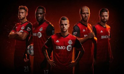 Toronto FC 2017 adidas Home Soccer Jersey, Football Kit, Shirt, Camiseta, Maillot
