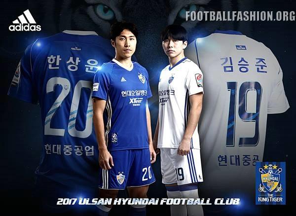 Ulsan Hyundai FC 2017 adidas Kits – FOOTBALL FASHION.ORG