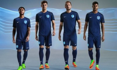 England 2017 Nike Away Football Kit, Soccer Jersey, Shirt