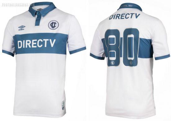 Universidad Católica 80th Anniversary Umbro Football Kit, Soccer Jersey, Shirt, Camiseta Conmemorativa de 80 años