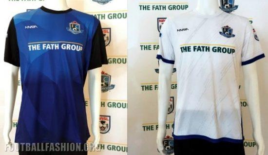 FC Edmonton 2017 Inaria Home and Away Football Kit, Soccer Jersey, Shirt