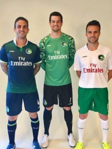 New York Cosmos 2017 Inaria Home and Away Football Kit, Soccer Jersey, Shirt, Camiseta de Futbol
