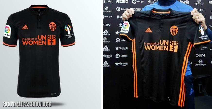 Valencia CF 2017 International Women s Day adidas Kit – FOOTBALL ... df71a9463