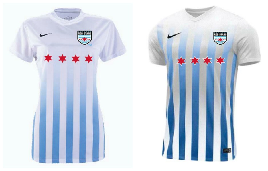 uk availability a629a 1b24e Chicago Red Stars 2017 Nike Home Jersey - FOOTBALL FASHION.ORG
