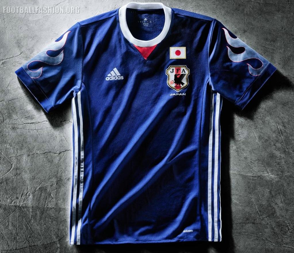 Japan 2017 adidas Home Jersey - FOOTBALL FASHION