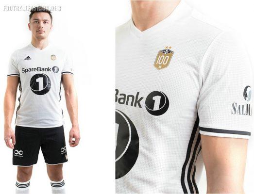 Rosenborg BK 2017 100th Anniversary adidas Football Kit, Soccer Jersey, Shirt, Spillertrøye, Drakt, Spillerdrakter
