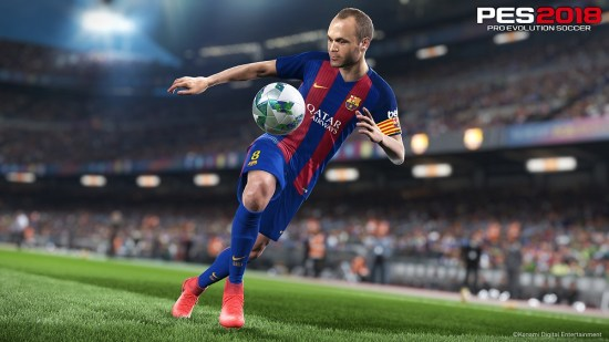 Pro Evolution Soccer 2018 Teaser Trailer, Sale Date and Screenshots
