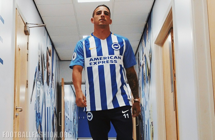 715568b9e96 Brighton   Hove Albion Nike Home Kit for Premier League Debut ...