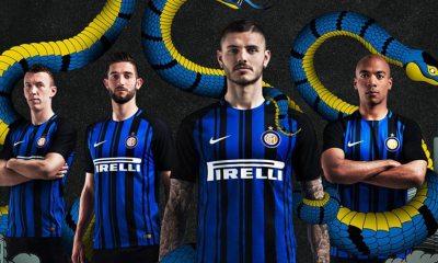 Inter Milan 2017 2018 Nike Home Football Kit, Soccer Jersey, Shirt, Maglia, Gara, Camiseta, Camisa, Maillot