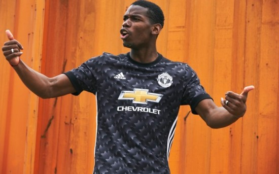 Manchester United 2017 2018 adidas Away Football Kit, Soccer Jersey, Shirt, Trikot, Camisa, Camiseta, Maillot