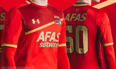 AZ Alkmaar 2017 2018 Under Armour Home Football Kit, Shirt, Soccer Jersey, Wedstrijdshirt Thuis, Thuisshirt