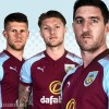 Burnley FC 2017 2018 PUMA Home Football Kit, Soccer Jersey, Shirt