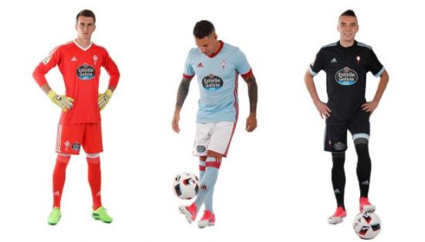 Celta Vigo 2017 2018 adidas Home and Away Football Kit, Soccer Jersey, Shirt, Camiseta de Futbol, Equipacion, Camisa