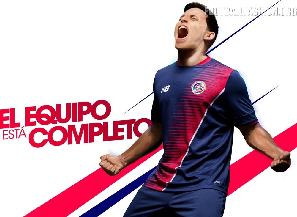6cc4c15ee Costa Rica 2017 New Balance Third Kit - FOOTBALL FASHION.ORG