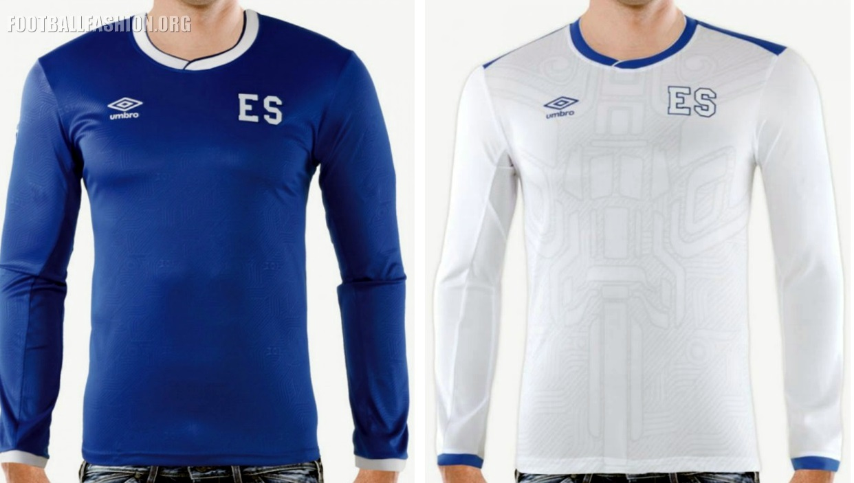 El Salvador Switch to Umbro. 2017/18 Kits Unveiled ...