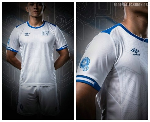 El Salvador 2017 2018 Gold Cup New Balance Home and Away Football Kit, Soccer Jersey, Shirt, Camiseta de Fubol Copa Oro, Equipacion