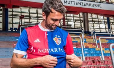 FC Basel 2017 2018 adidas Home Football Kit, Soccer Jersey, Shirt, Trikot, Heimtrikot