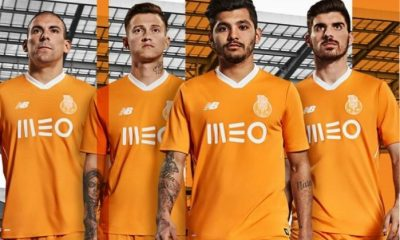 FC Porto 2017 2018 New Balance Away Football Kit, Soccer Jersey, Shirt, Camisa, Camiseta, Camisola, equipamento alternativo