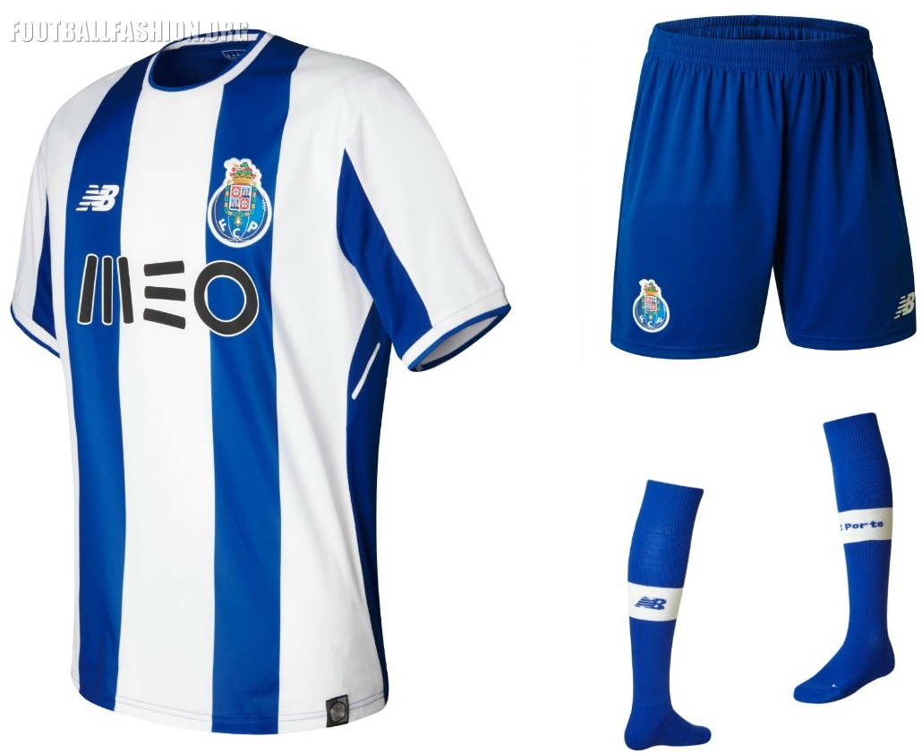 designer fashion ea196 c56e3 FC Porto 2017/18 New Balance Home Kit - FOOTBALL FASHION.ORG