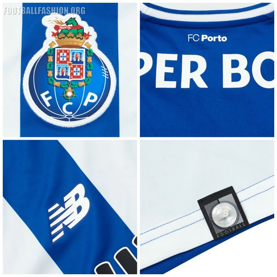 Fc Porto: FC Porto 2017/18 New Balance Home Kit