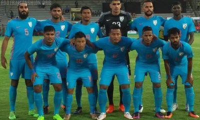 India 2017 2018 Nike Home Football Kit, Soccer Jersey, Shirt