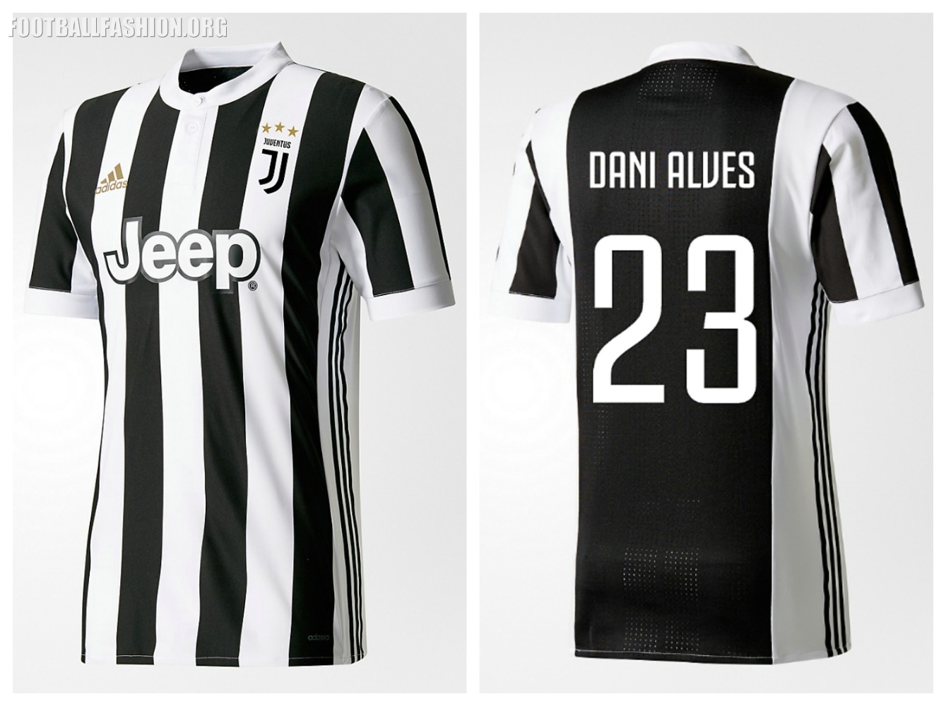 0e5ffa314 Juventus 2017 18 adidas Home Kit - FOOTBALL FASHION.ORG