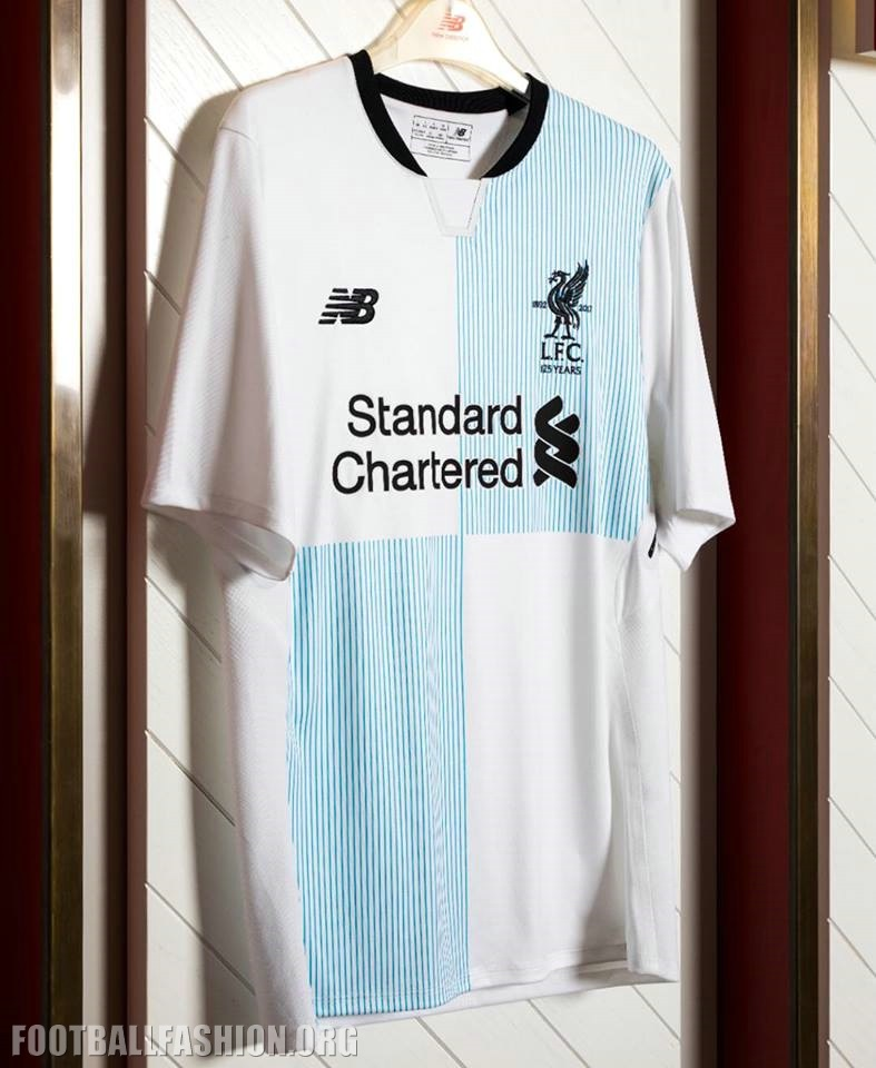 7045f8548 Liverpool FC Special Edition Away Football Kit to Celebrate 125th  Anniversary