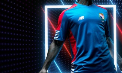 Panamá 2017 Gold Cup New Balance Third Soccer Jersey, Shirt, Football Kit, Camiseta de Copa Oro, Equipacion