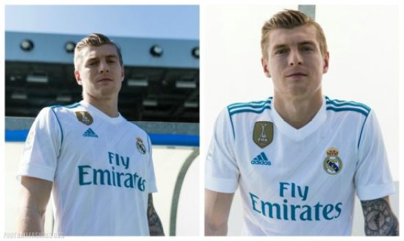 Real Madrid 2017 2018 adidas Home and Away Football Kit, Soccer Jersey, Shirt, Camiseta, Camisa, Equipacion, Maillot, Trikot, Tenue, Camisola, Dres