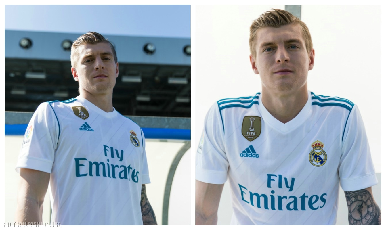 the best attitude 57e0b d4eb3 Real Madrid 2017/18 adidas Home and Away Kits - Football Fashion