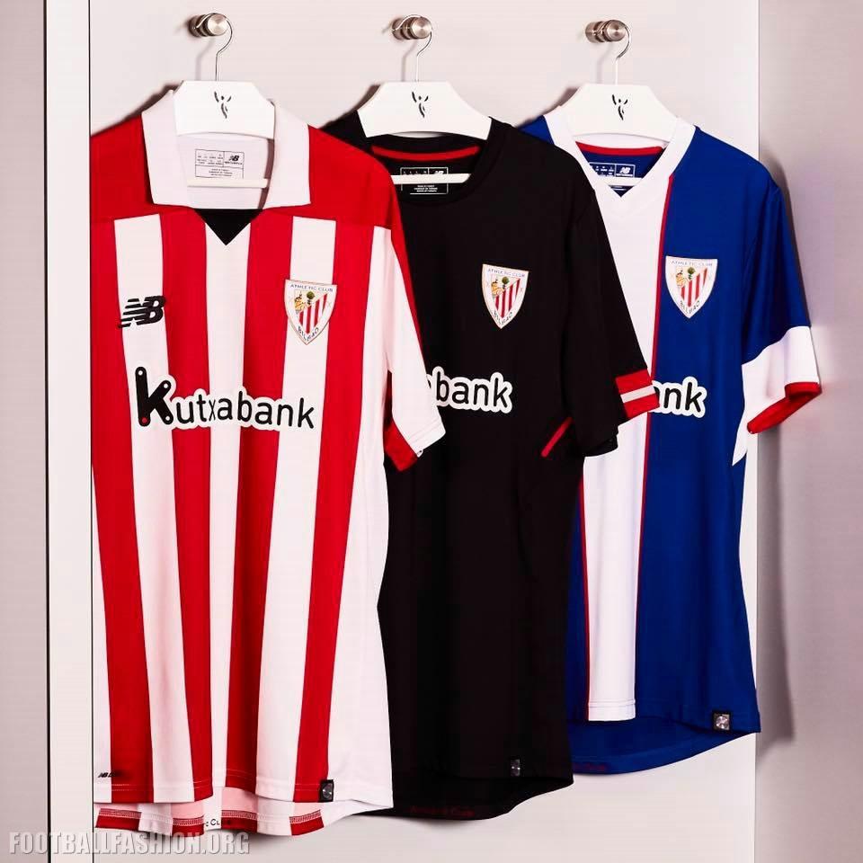 quality design b70d7 a9f47 Athletic Club de Bilbao 2017/18 New Balance Kits - FOOTBALL ...