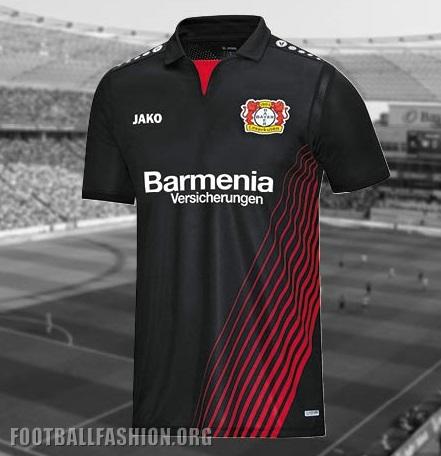 Bayer 04 Leverkusen 2017 18 Jako Home Kit – FOOTBALL FASHION.ORG f6ca8e11868b9