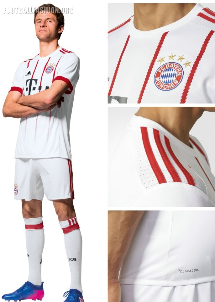 Bayern München 2017 18 adidas Third Kit – FOOTBALL FASHION.ORG b94cb4503