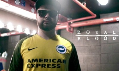 Brighton and Hove Albion 2017 2018 Nike Yellow Away Premier League Football Kit, Shirt, Soccer Jersey