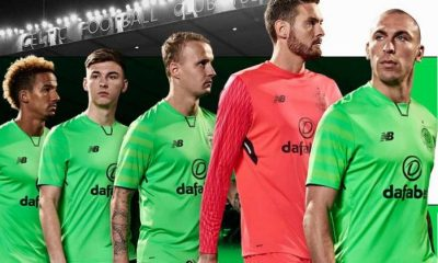 9ac130a29 Celtic FC 2017 2018 New Balance Third Euro Football Kit