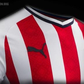 Chivas de Guadalajara 2017 2018 PUMA Home and Away Soccer Jersey, Shirt, Football Kit, Camiseta de Futbol, Equipacion