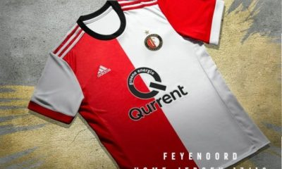 Feyenoord Rotterdam 2017 2018 adidas Home and Away Football Kit, Soccer Jersey, Shirt, Tenue, Thuisshirt, Uitshirt