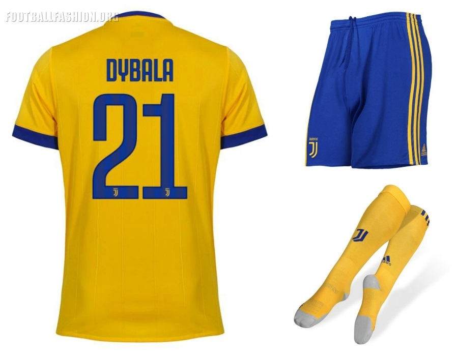 Juventus FC 2017/18 Adidas Away Kit